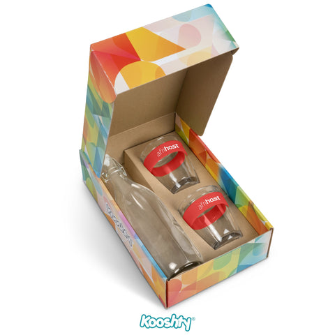 Kooshty Kool Drinking Set - Red Only Corporate gifts
