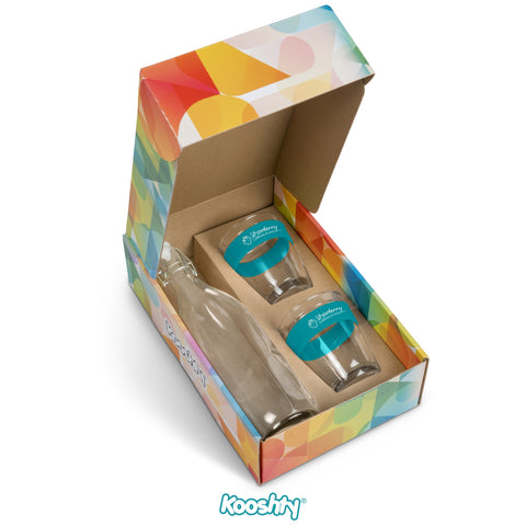 Kooshty Kool Drinking Set - Turquoise Only Corporate gifts