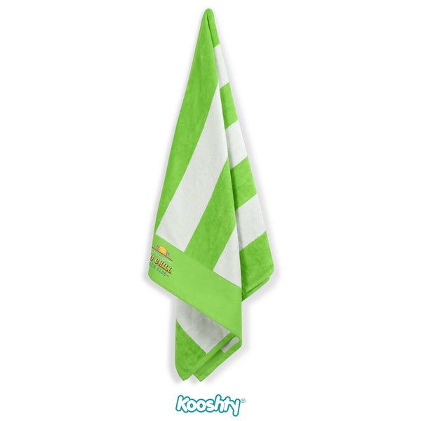 Kooshty Mykonos Beach Towel - Lime Only Corporate gifts