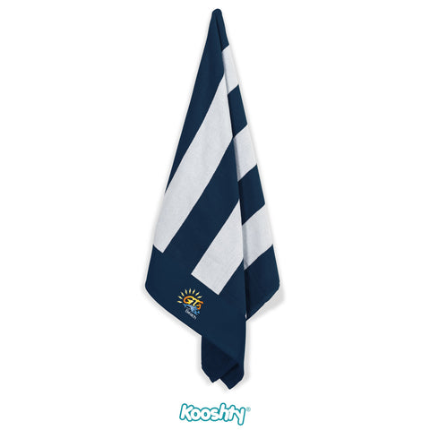 Kooshty Mykonos Beach Towel - Navy Only Corporate gifts