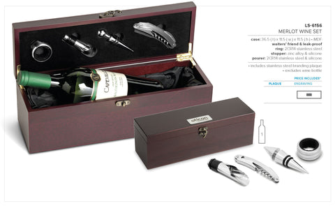 Merlot Wine Set Corporate gifts