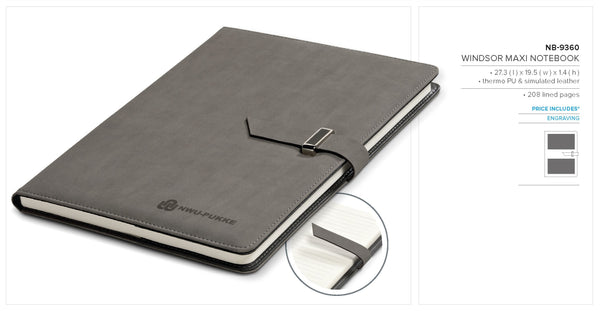 Windsor Maxi Notebook Corporate gifts