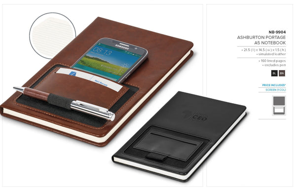 Ashburton Portage A5 Notebook Corporate gifts
