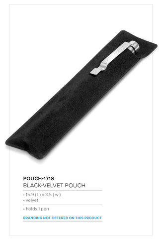 Black-Velvet Pouch (Excludes Pen) Corporate gifts