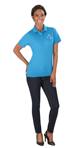 Ladies Crest Golf Shirt Corporate gifts