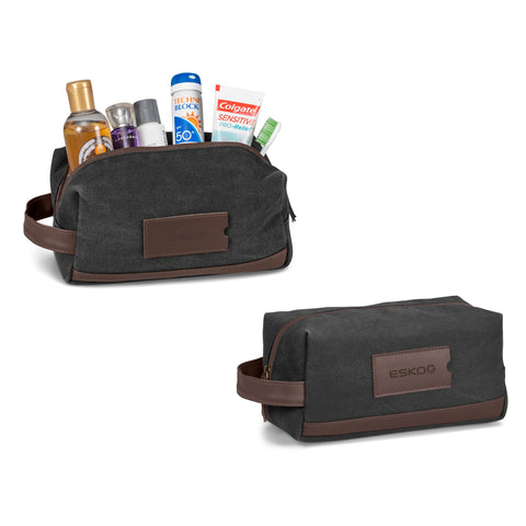 Hamilton Canvas Toiletry Bag Corporate gifts