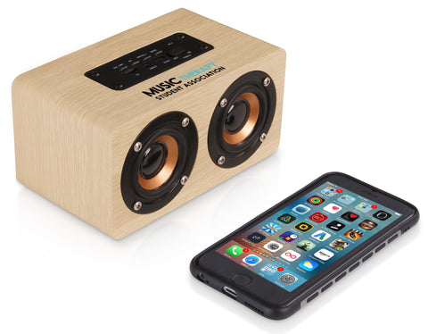 Amazon Deco Bluetooth Speaker - Natural Corporate gifts