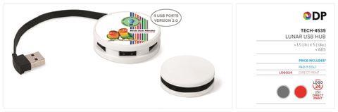 Lunar Usb Hub Corporate gifts