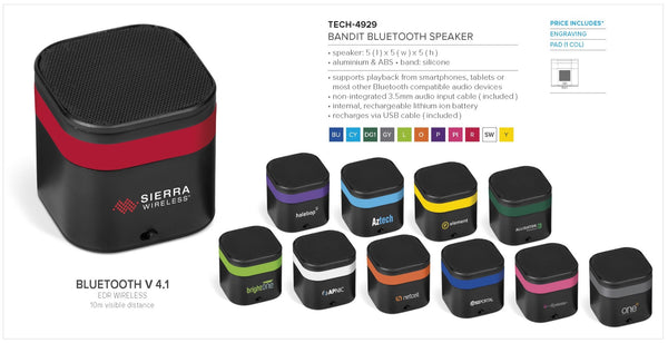 Bandit Bluetooth Speaker Corporate gifts