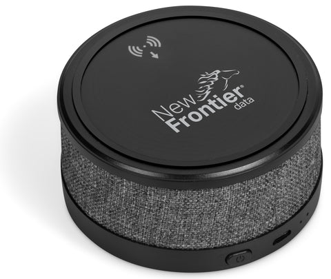 Aberdeen Wireless Charger & Bluetooth Speaker Corporate gifts