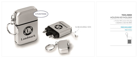 Houdini Keyholder Corporate gifts