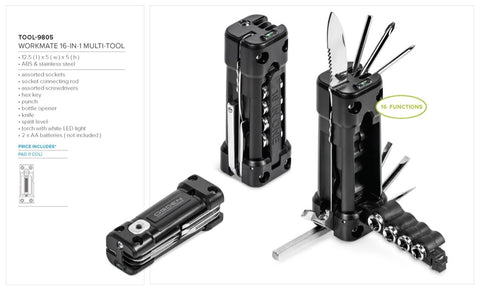 Workmate 16-In-1 Multi-Tool Corporate gifts
