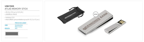 Atlas Memory Stick Corporate gifts