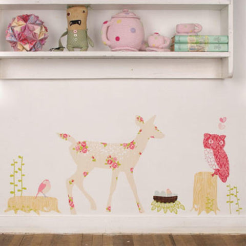Reusable Oh Deer Wall decal