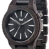 Jewellery - Assunt Wood Watch - Black
