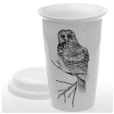 Living - Reusable Coffee Cup - Owl
