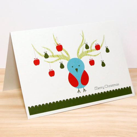 Stationery - Christmas Chick Card