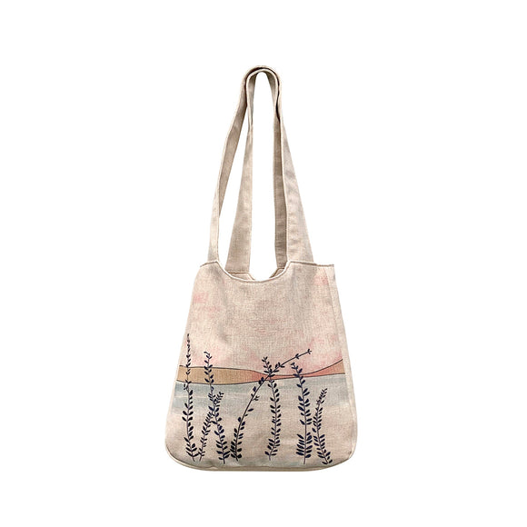 Grasses Linen Shoulder Bags