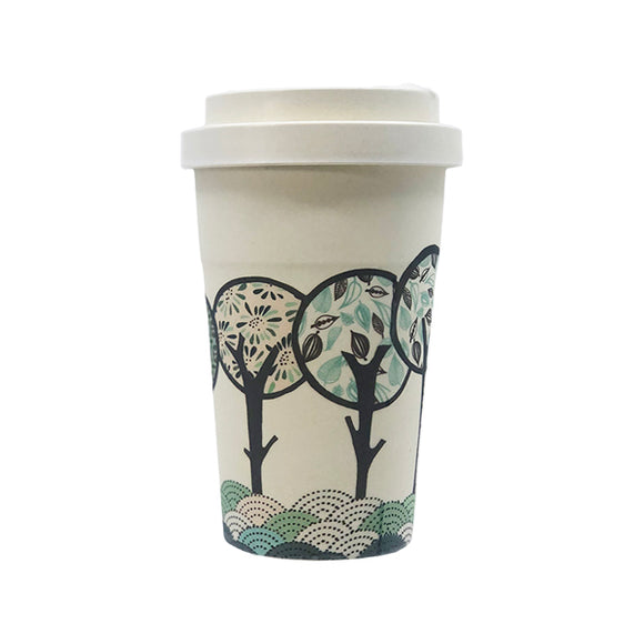 Long Forrest Bamboo Travel Mug