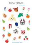 Adesivos Animal Crossing!