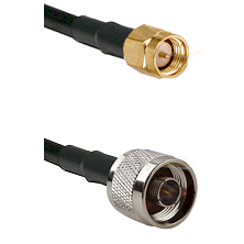 LMR-400 Coax, N-Male to SMA-Male Cable