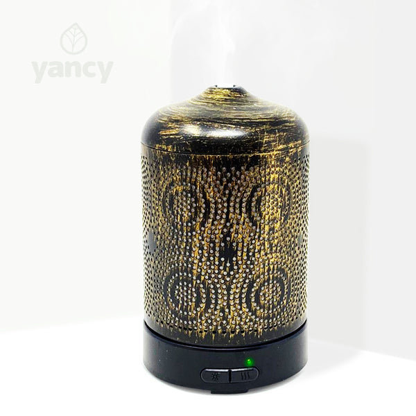 90324 - Metal Ultrasonic Aroma Diffuser Bronzed 100ml - New!
