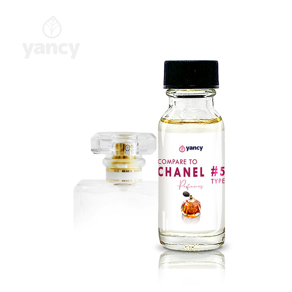 Compare to Chanel #5 type (CO-001)