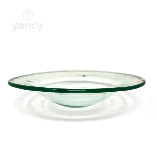 Rounded Large Replacement Dish - Clear - for Tabletop Aroma Lamps