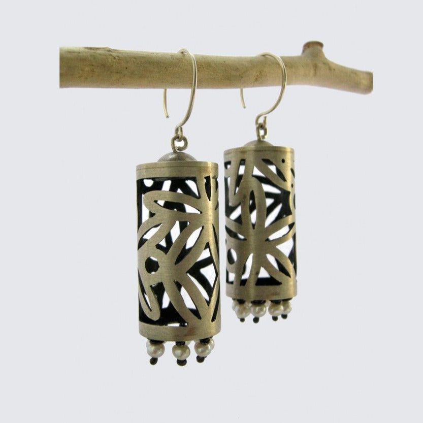 Lotus Lantern Earrings