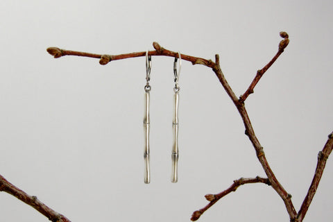 Bamboo Stem Earrings