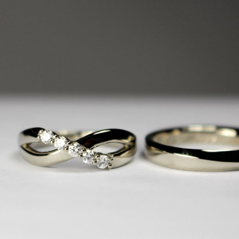 Rings for Claire and Peter
