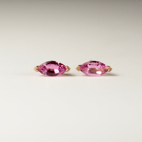Lotus Petal Stud Earrings