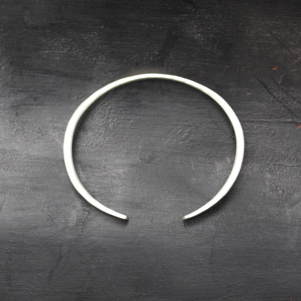 Forged Cuff Bangle - Symmetrical
