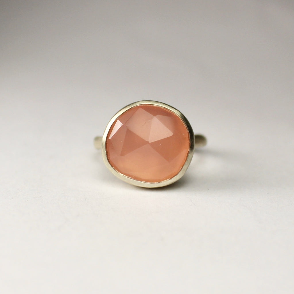 Wabi Rose Quartz Ring