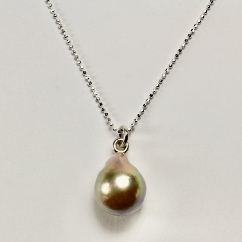 Wabi Sabi Grand Tear Drop Pendant
