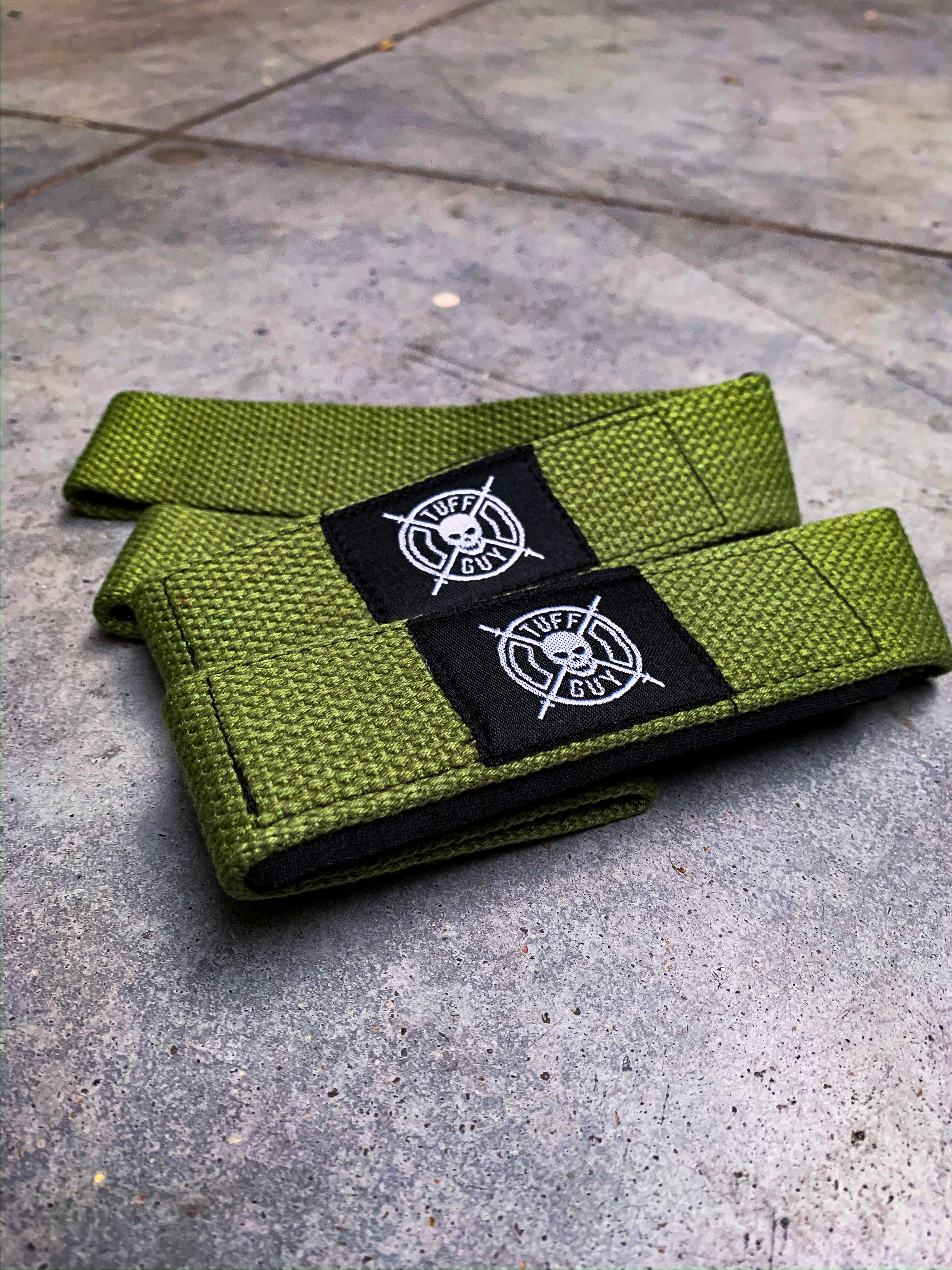 Green Lifting Straps