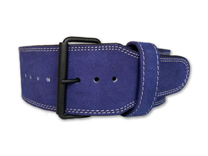 Powerlifting Belt - Single Prong - Azure Blue