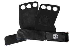 Hand Grips - Black Suede