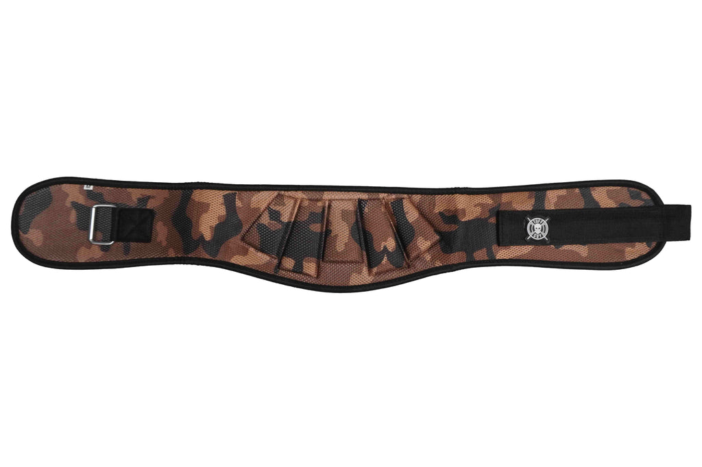 Premium Mesh Lifting Belt - Camo