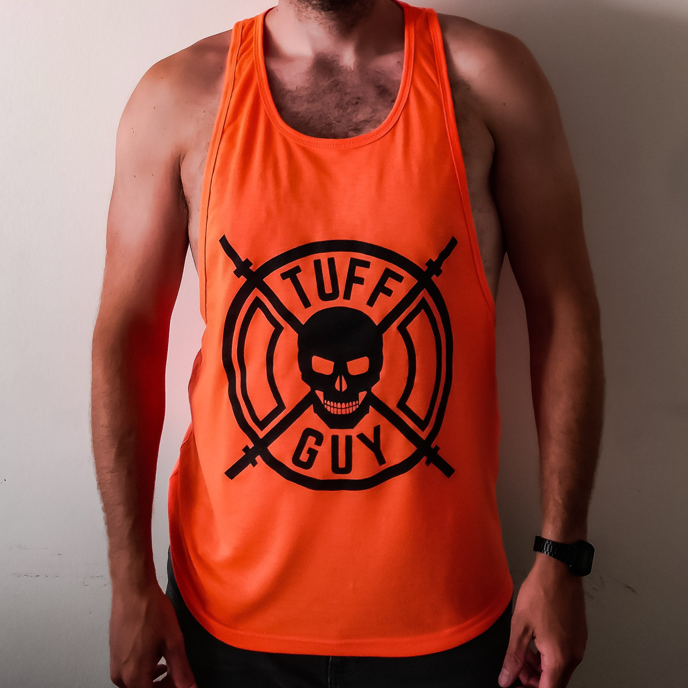 Tank Top - Tiger Orange