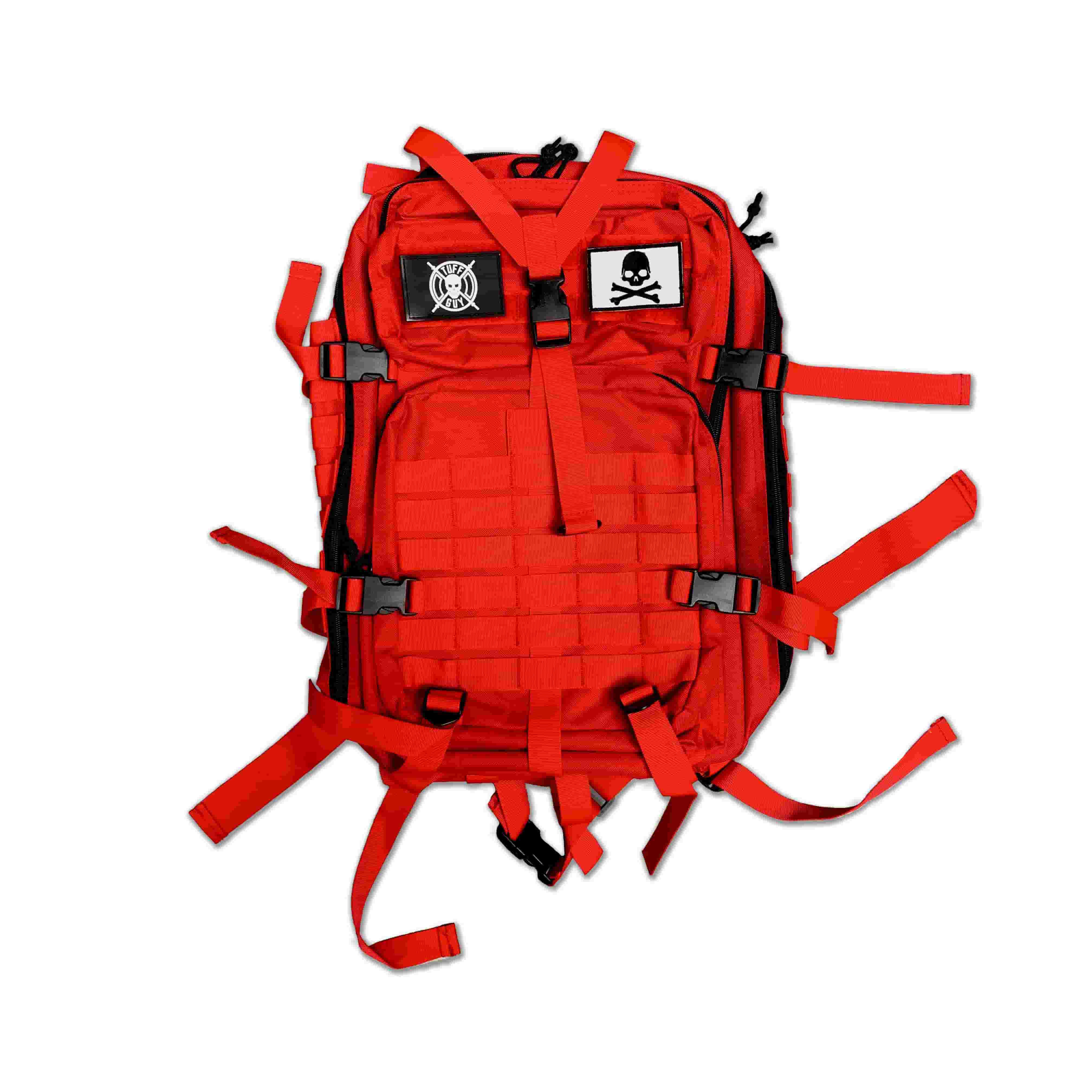 Tactical Backpack 45L - Chili Red