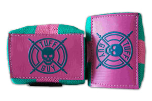 Wrist Wraps - Pink and Teal