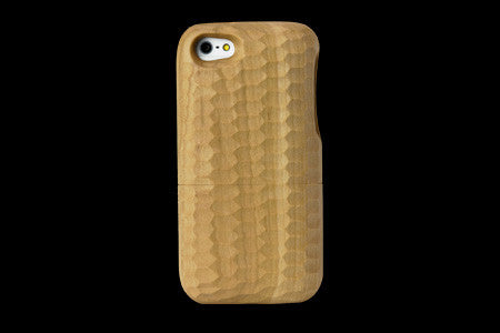 Real Wood Case for iPhone 5 SAKURA Cherry/Carved