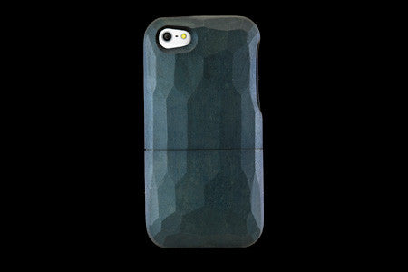 Real Wood Case for iPhone 5 Natural Indigo dye KAEDE/Carved