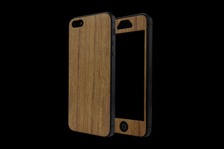 THE WOOD SKIN for iPhone 5 (Front x Back Set)