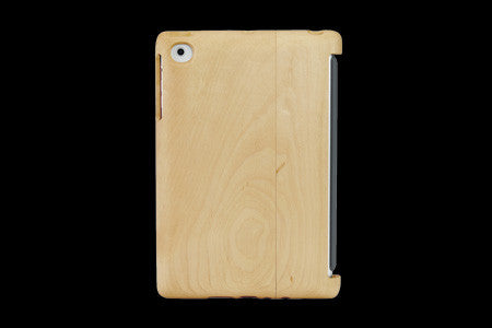 Real Wood Case for iPad mini KAEDE  Maple/Plain