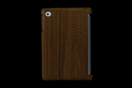 Real Wood Case for iPad mini KURUMI Walnut/Carved