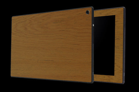 THE WOOD SKIN for Xperia Tablet Z (Front x Back set)