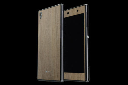 THE VULCANIZED FIBRE SKIN for Xperia Z1 (Front x Back Set)
