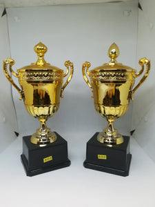 S03-Gold Or Silver Plastic Cup Trophy